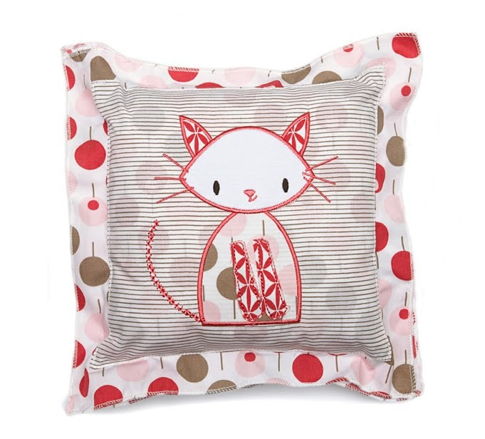 Ella & Otto Cat Cushion