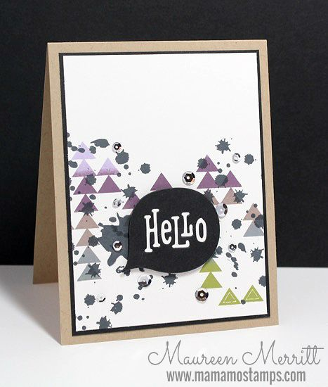 Mama Mo Stamps: Hello CTS#120