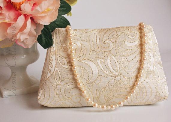 Vintage brocade purse by Verona Collections