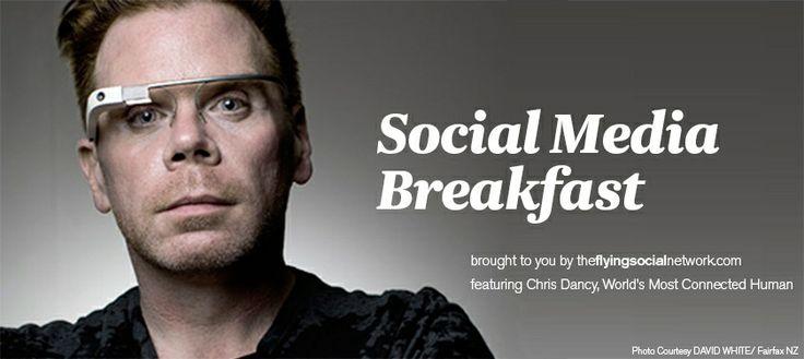 Air New Zealand Flying Social - Social Media Breakfast: Existence as a Platform