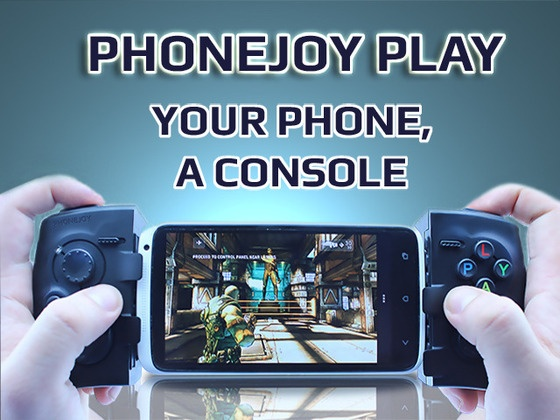 PhoneJoy Play: Turn your phone into a console! by PhoneJoy Solutions America, Inc., via Kickstarter.