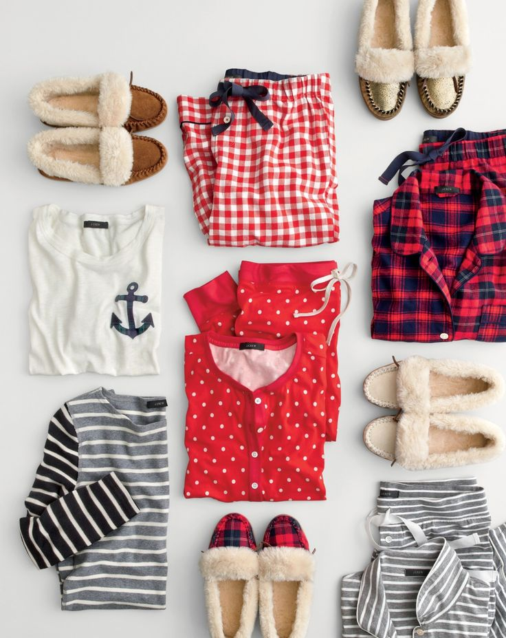 All cozy everything. The comfiest J.Crew clothes and the toastiest slippers. Now that's what we call great gift potential.