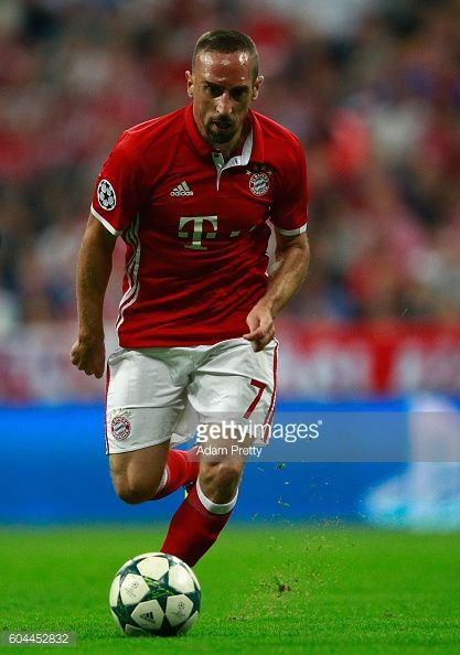Franck Ribery of Bayern Muenchen in action during the UEFA Champions League Group D match between FC Bayern Muenchen and FC Rostov at Allianz Arena...