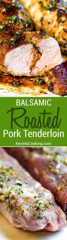 Balsamic Roast Pork Tenderloin