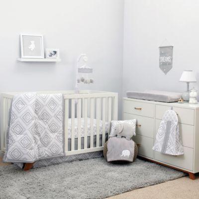 Nojo Dreamer Diamond 8-Piece Crib Bedding Set In Grey in 2018