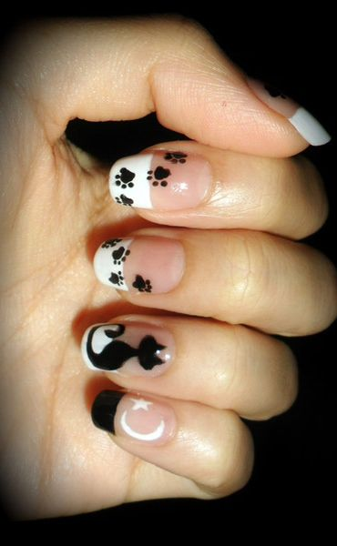 can my nails look like this please?