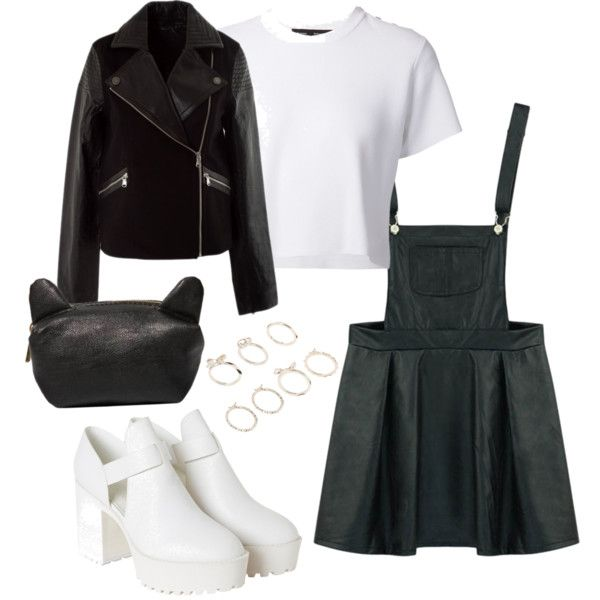 A fashion look from February 2015 featuring Proenza Schouler tops, MARC BY MARC JACOBS jackets and Monki ankle booties. Browse and shop related looks.