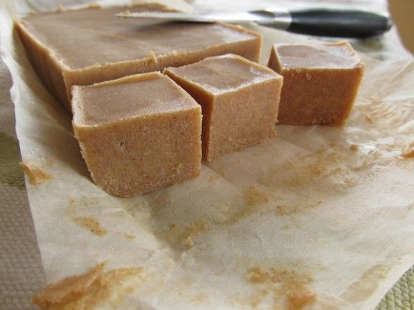 Almond banana fudge