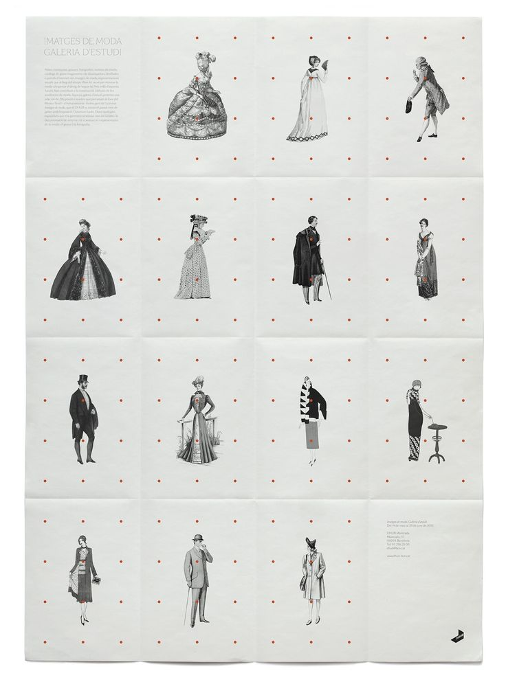 lovely elements. Exhibition poster for 'Fashion Images', Barcelona 2010. By Klas Ernflo.