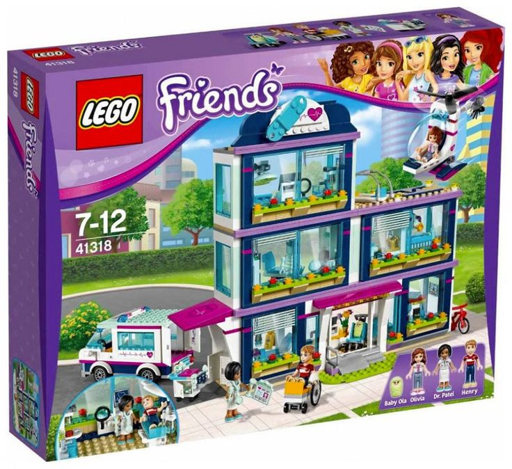 LEGO Friends 41318 : Heartlake Hospital - Juin 2017