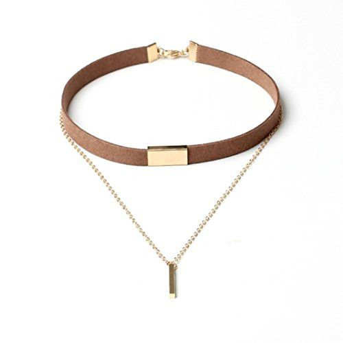 OMG McKenna Gold Chai... Shop Now! http://www.shopelettra.com/products/start-girls-women-chokers-gold-chain-necklace-collar-couble-jewelry-gold?utm_campaign=social_autopilot&utm_source=pin&utm_medium=pin