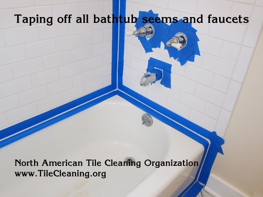 re-caulk a bathtub - and every other tile related matter!