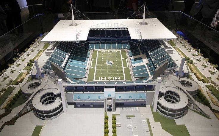 The Dolphins have a hard deadline for their nearly half-billion dollar stadium renovation project: Their home preseason opener on Aug. 25. Team CEO Tom Garfinkel said Monday that construction is on schedule.
