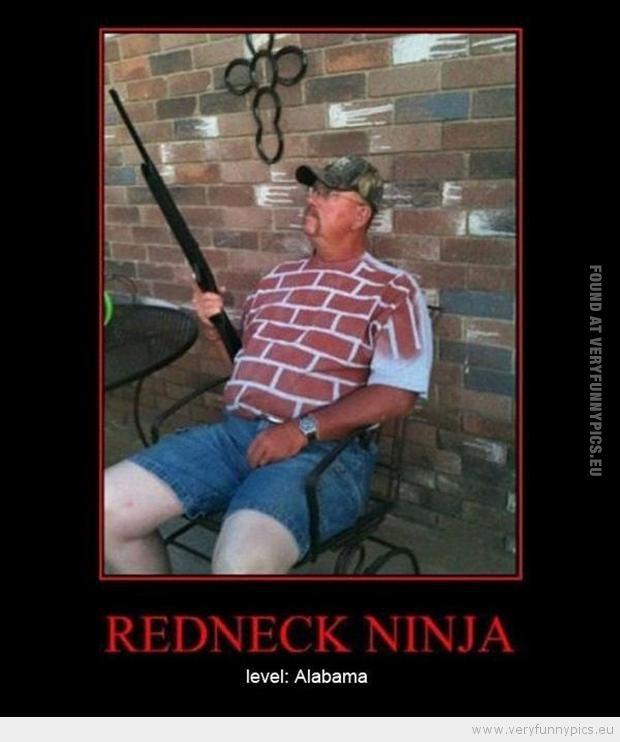 Funny Redneck Sayings   funny-picture-redneck-ninja-level-alabama.jpg