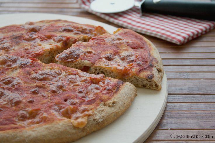 Pizza al farro, ricetta di Bonci