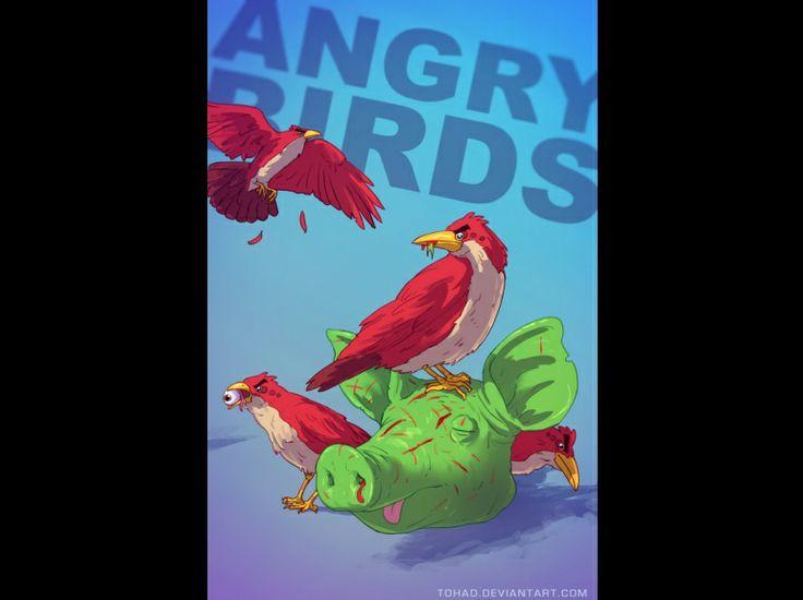 """Le jeu vidéo """"Angry Birds"""""""