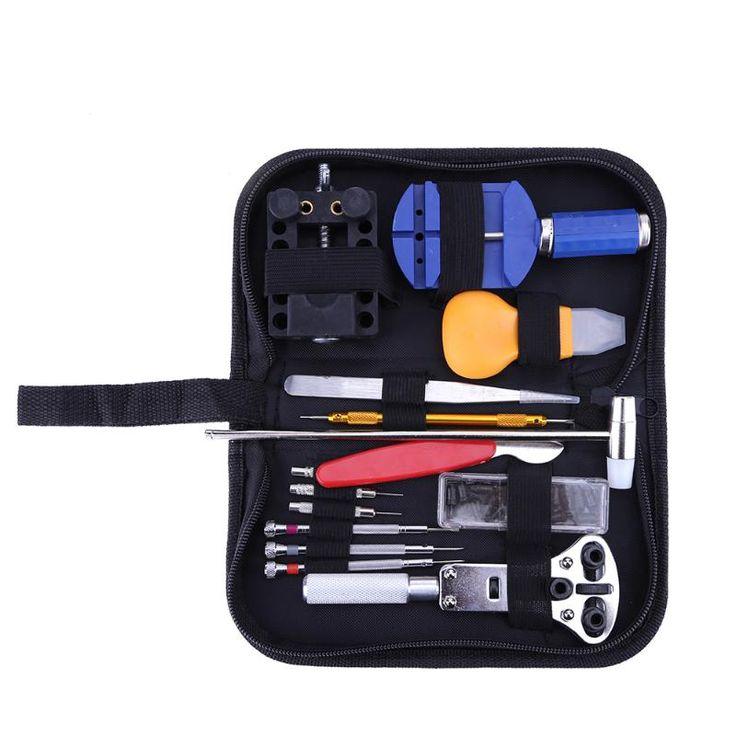 147pcs/set Professional Watch Repair tool Kit Pin Set Watch Case Opener Link Remover Screwdriver Tweezer Watchmaker Dedicated