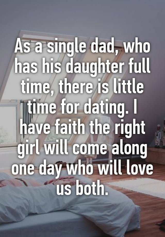 Dating a single dad: a different ballgame