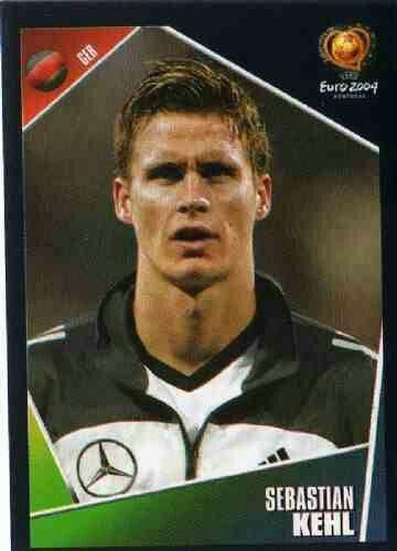 Sebastian Kehl of Germany. Euro 2004 card.