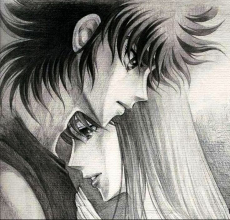 Saori y Seiya 2. Omega Ω.
