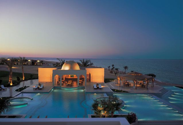 The Oberoi, Sahl Hasheesh on the Red Sea, Egypt.