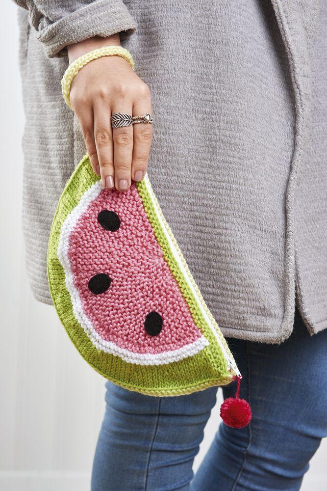 Issue 77 Sneak Peek: Watermelon clutch