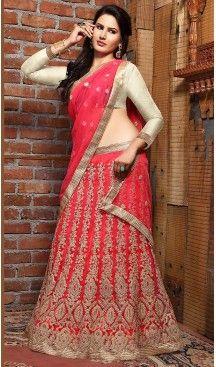 Deep Pink Color Net A Line Style Treditional Wear Lehenga Choli | FH497276213 #heenastyle, #designer, #lehengas, #choli, #collection, #women, #online, #wedding , #Bollywood, #stylish, #indian, #party, #ghagra, #casual, #sangeet, #mehendi, #navratri, #fashion, #boutique, #mode, #henna, #wedding, #fashion-week, #ceremony, #receptions, #ring , #dupatta , #chunni , @heenastyle , #Circular , #engagement ,#treditional