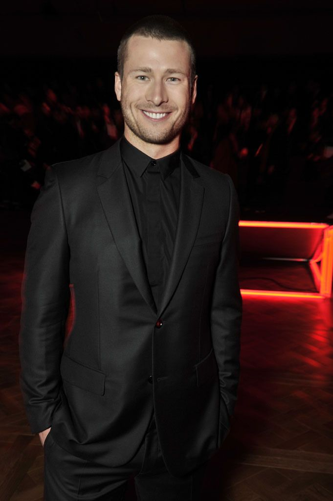 Glen Powell at Dior Autumn-Winter 2016 Men Fashion Show #PFW #RTW #AW16 #Dior #LVMH