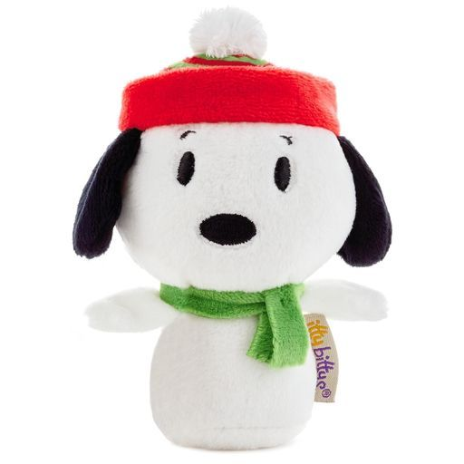 Peanuts® Snoopy Holiday itty bittys® Stuffed Animal Limited Edition,