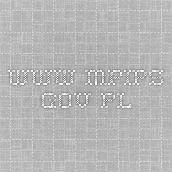 Informacje o koncie IKE - www.mpips.gov.pl