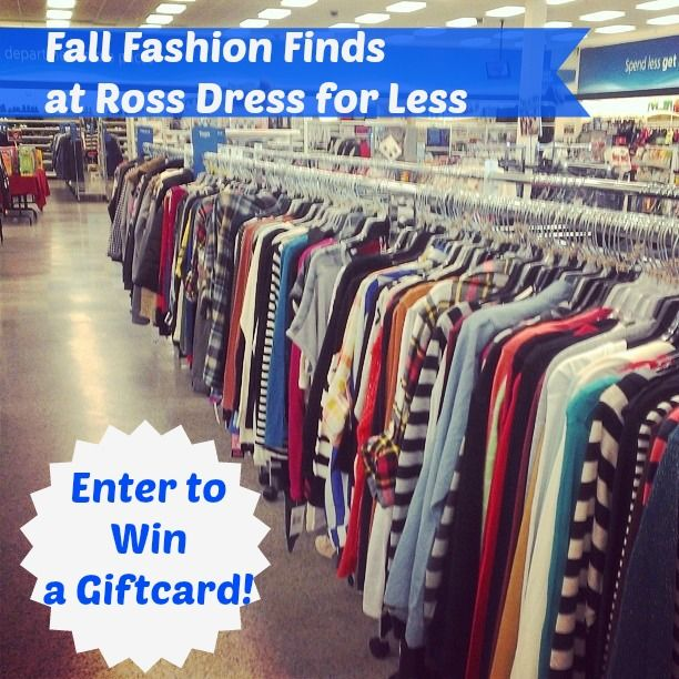 Fall Fashion Finds At Ross Dress For Less **Giveaway