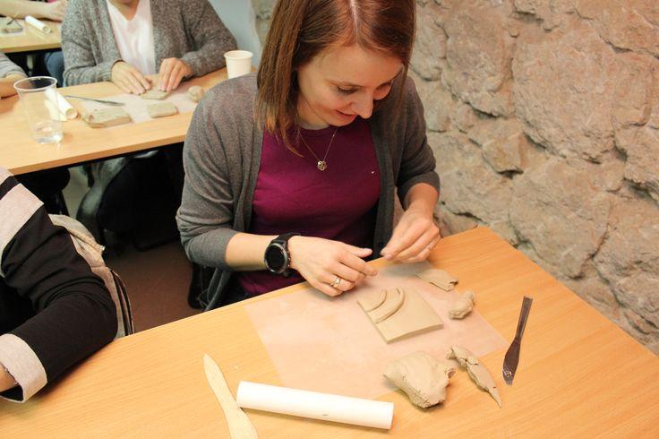 Ceramics workshop with Grzegorz Garcarz #zaprojektowani #szkolawnetrziprzestrzeni