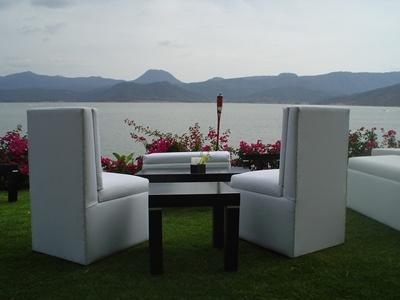 Salas lounge- Renta de Salas lounge, salas lounge de varios modelos.