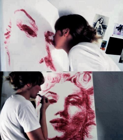 Makyaj bir sanattır derken, tam da bunu kast ediyorduk! :)