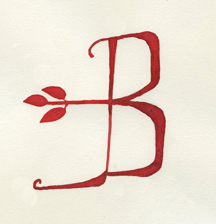 B // #typography: Letters B, Hands Letters, Beautiful Bs, 2012 05, B Brenda Beautiful, Hand Lettering, 2012 03