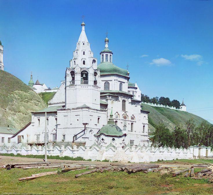 Церковь Пресв. Богородицы. С другой стороны. / [Богоявленская церковь. И этот храм был уничтожен в смутные времена революции