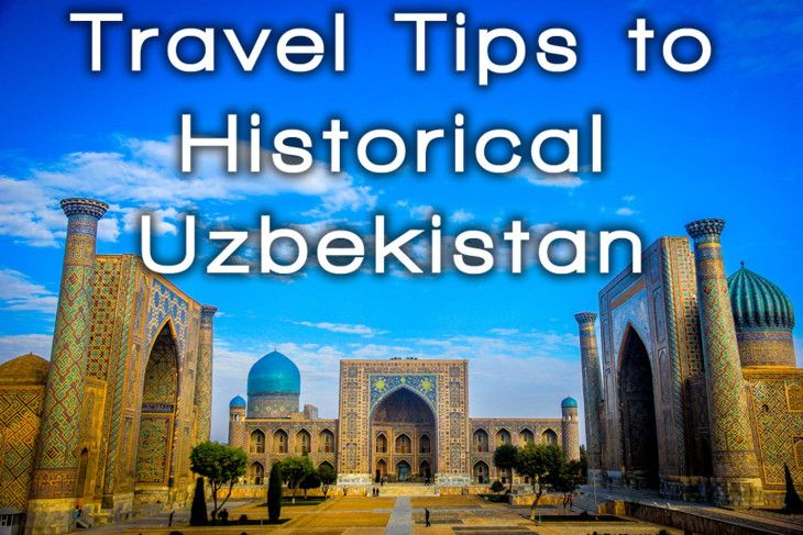 Uzbekistan, one of the most historical places on earth.