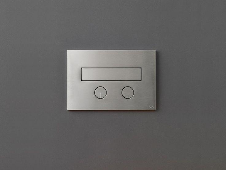 Placca di comando per wc / idroscopino PLA 14 by Ceadesign S.r.l. s.u. design Natalino Malasorti