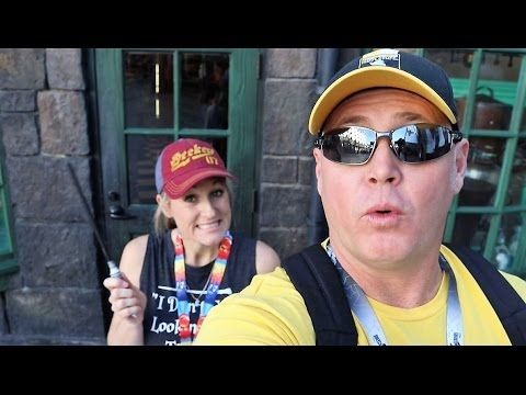 Harry Potter Magical Wand Spots   Magical Way to Skip the Lines   Hogsmeade   Universal Studios - YouTube