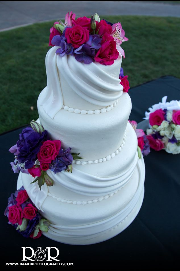 wedding cakes with pink and purple flowers 34 best images about multi colored bouquets for colorful 26083