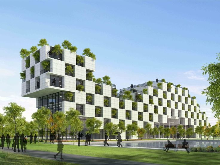 Nice Hightech Architecture Style : Sustainable Architecture Good Looking