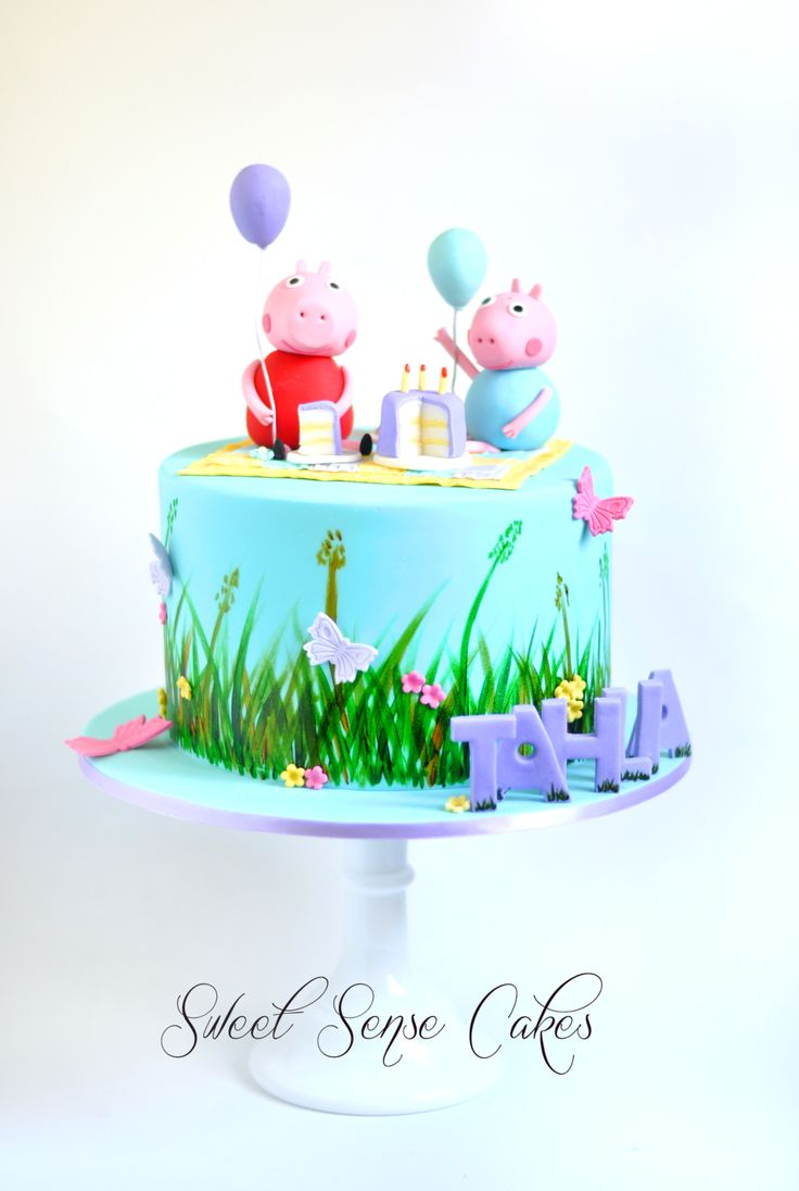 Sweet Sense Cakes Peppa Pig Cake