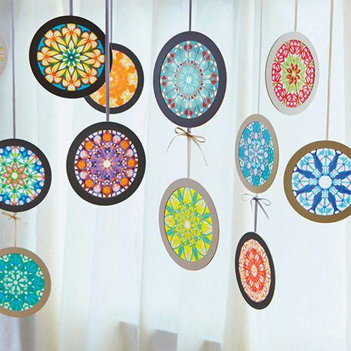 光と色のヒーリングアート 万華鏡の美しさが広がるローズウィンドウの会(12回限定コレクション)