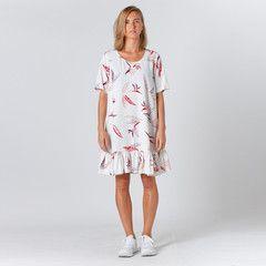 Lower Kate Dress - White Paradise