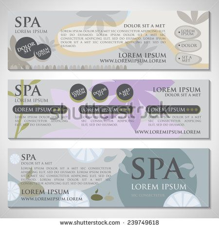 Spa Flyer Template - Vector Illustration, Graphic Design, Editable For Your Design - stock vector