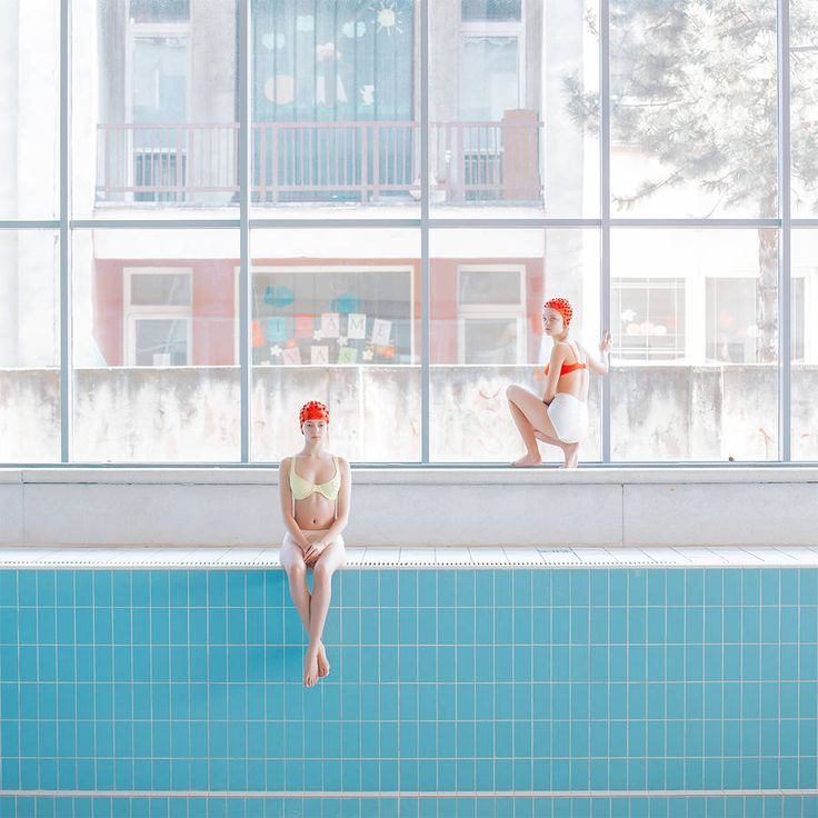 Poetic Picture Series in a Pool Without Water