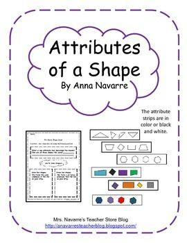 Recognize shape attributes
