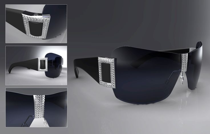 Sunglass design, CAD, and 3D Rendering for Ogani Eyewear