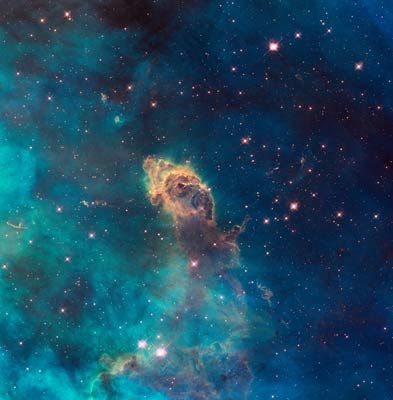 You can download photos taken by the Hubble Space Telescope for FREE and then make gorgeous prints. Good gift idea!
