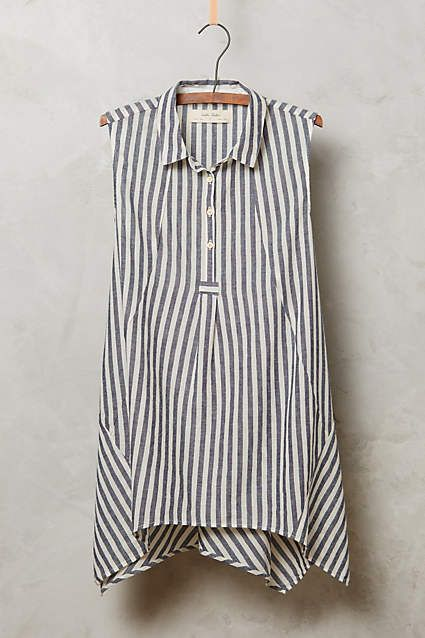 Stripe Plane Tunic by Isabella Sinclair, via Anthropologie